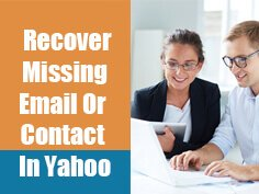 Yahoo Lost contacts and email recovery